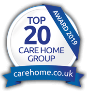 Top 20 Care Home Group 2019