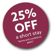 25% Discount on Respite Care Breaks